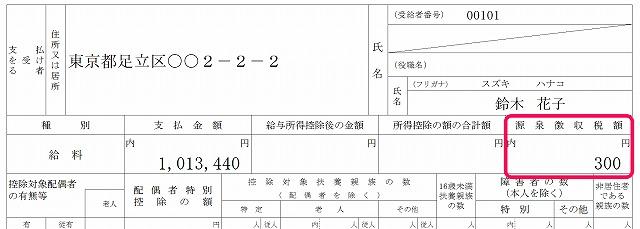 源泉徴収票7
