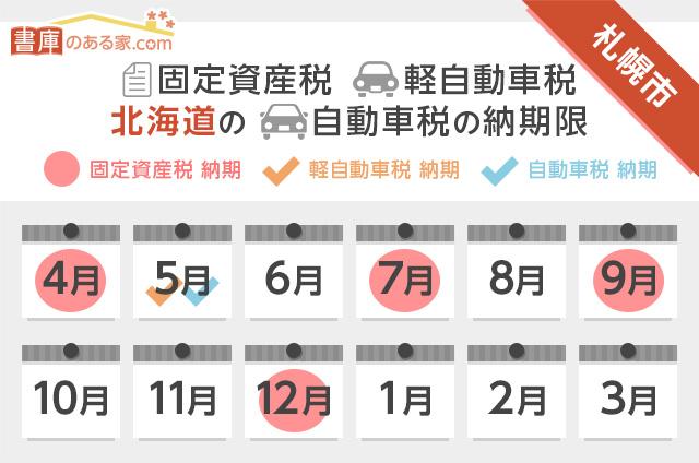 札幌税金カレンダー